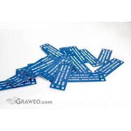 Tabliczki opisowe do kabli