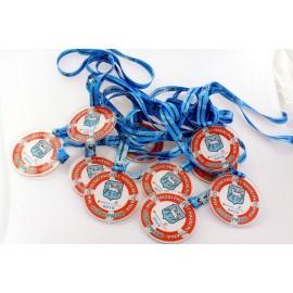 Medal z pleksi okrągły