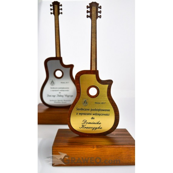 Statuetka Gitara