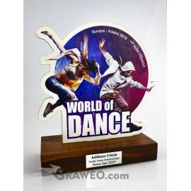 Statuetka - Taniec, konkurs taneczny
