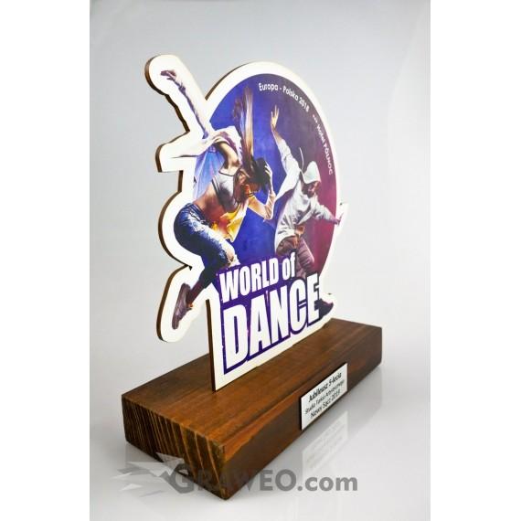 Statuetka - Taniec, na konkurs taneczny