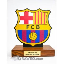 Statuetka piłkarska FCB, na prezent